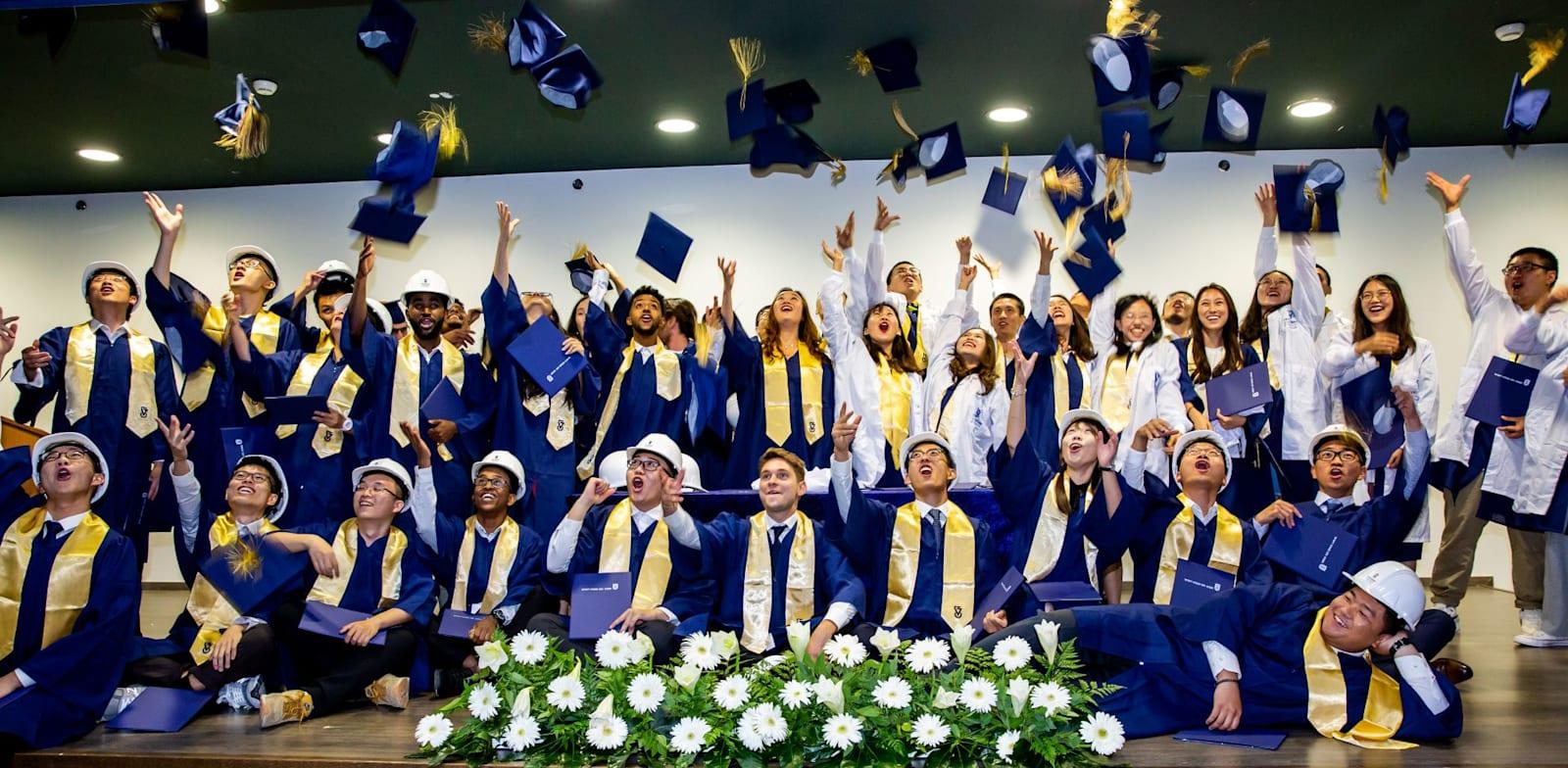 סטודנטים זרים למקצועות הייטק וטכנולוגיה בטכניון חיפה / צילום: ארכיון המרכז הבינלאומי בטכניון