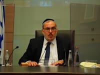 """ח""""כ יעקב אשר, יו""""ר ועדת החוקה / צילום: דוברות הכנסת עדינה ולמן"""