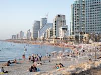 חוף ים ת''א / צילום: כדיה לוי