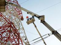 עבודות של חברת החשמל / צילום: איל יצהר