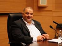 מנסור עבאס - הרשימה הערבית המשותפת / צילום: דוברות הכנסת עדינה ולמן
