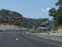 כביש חוצה צפון / צילום: בר - אל