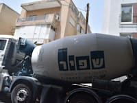 משאית מערבל בטון שפיר הנדסה / צילום: בר - אל