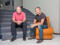 משה ליכטמן (מימין)  וחיים שני, בעלי קרן IGP / צילום: ענבל מרמרי