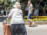 קשישה - זקנה / צילום: שלומי יוסף