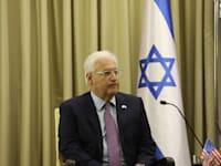שגריר ארה''ב לשעבר בישראל, דייוויד פרידמן / צילום: נעם ריבקין פנטון