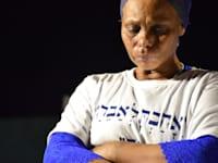 """עצרת הזדהות עם משפחת אברה מנגיסטו כיכר הבימה ת""""א. / צילום: שחר מילגרום"""