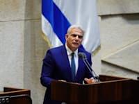 שר החוץ ויו''ר יש עתיד יאיר לפיד / צילום: דוברות הכנסת עדינה ולמן