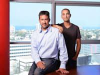 זיו קדם + עודד קדם - אחים מייסדי חברת זרטו zerto , עודד קדם - משמש היום CTO / צילום: איל יצהר