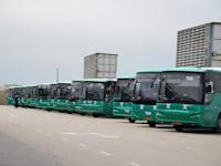 """תחנה מרכזית החדשה ת""""א - אוטובוסים / צילום: תמר מצפי"""