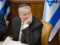 מזכיר הממשלה אביחי מנדלבליט / צילום: אמיל סלמן-הארץ