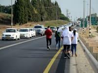 צעדה נגד אלימות בישובים ערבים / צילום: איל יצהר