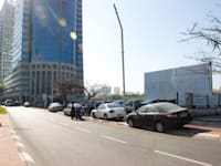מגרש חניה רחוב מנחם בגין 13 רמת גן . / צילום: אלי יהב