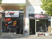 """חנות קורקינט חשמלי ת""""א / צילום: תמר מצפי"""