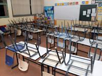 כיתה ריקה / צילום: אייל פישר