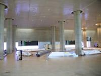 """אולם הנוסעים הנכנסים בנתב""""ג בתקופת הקורונה / צילום: שלומי יוסף"""