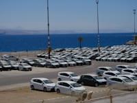 רכבים חדשים בנמל אילת / צילום: איל יצהר