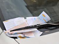 דוחות על חניה לא חוקית / צילום: תמר מצפי