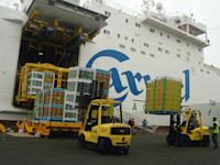 נמל אשדוד - אונית כרמל אגרקסקו משלוח יצוא / צילום: תמר מצפי