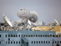צלחות לויין - גילת לווינים / צילום: תמר מצפי