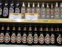 סופרמרקט ג'מבו - בירות שתיה חריפה / צילום: תמר מצפי