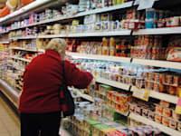 סופרמרקט - מדפים / צילום: תמר מצפי