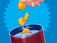 מטבעות בתוך קופסה -חיסכון / איור: אסף חנוכה