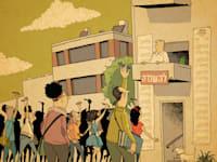 דירה להשכרה / איור: ליאב צברי