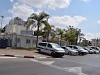 מבנה תחנת משטרת לוד / צילום: בר - אל