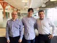 מייסדי Next Insurance אלון חורי, גיא גולדשטיין ונסים טפירו / צילום: קרדיט: נקסט אינשורנס