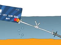 כרטיס אשראי / איור: גיל ג'יבלי