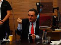 """שר האוצר ישראל כ""""ץ / צילום: דוברות הכנסת עדינה וולמן"""