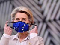 אורסולה פון דר לאיין, נשיאת הנציבות האירופית / צילום: Associated Press, John Thys, Pool