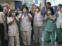 מבצע החיסונים באיכילוב / צילום: ראובן קסטרו, וואלה! NEWS