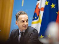 הייקו מאס, שר החוץ של גרמניה / צילום: Reuters, Thomas Trutschel