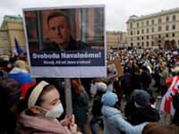 הפגנה ברוסיה נגד השלטון / צילום: דייוויד ו. צ'רני