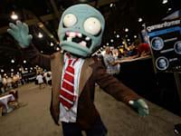 תערוכה של גיימסטופ בלאס וגאס  ב-2013 / צילום: Associated Press, Al Powers/Invision