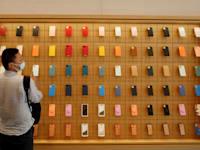 חנות של אפל בסין. המכירות במדינה זינקו ב־57% / צילום: Reuters