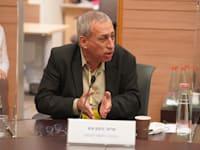 פרופ' נחמן אש בועדת החוקה בנושא הדרכון הירוק / צילום: דוברות הכנסת שמוליק גרוסמן