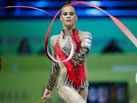ניקול זליקמן. התעמלות אומנותית / צילום: Reuters, BEAUTIFUL SPORTS/U. Fassbender v