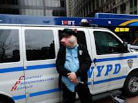 מפגין בוול סטריט / צילום: Reuters, SOPA Images
