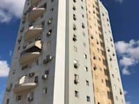 הבניין ברחוב השלום, שכונה ג' בבאר שבע / צילום: יקיר זיתון