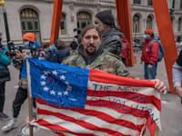 """מפגין נגד """"הכוחות החזקים"""" בוול סטריט / צילום: Shutterstock"""