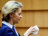 נשיאת הנציבות האירופית אורסולה פון דר לאיין / צילום: Associated Press, Johanna Geron