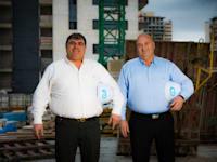 האחים פיני (מימין) ואמיר יעקובי / צילום: אריק סולטן