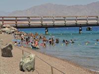 חוף קצא''א אילת / צילום: יוד צילומים