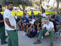 עובדי חיפה כימיקלים הקימו מאהל מחאה ומתבצרים במפעל / צילום: דוברות ההסתדרות