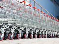 עגלות סופר. מה יקרה לשטחי המסחר? / צילום: Shutterstock
