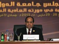 "גנרל עבד אל פתאח סעיד חוסיין ח'ליל א- סיסי - נשיא מצרים / צילום: יח""צ"