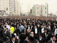 עצרת ההמונים החרדית במחאה על חוק הגיוס + הפגנה של חרדים - ירושלים / צילום: אוריה תדמור